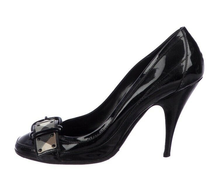 Burberry donna  Pump EU Dimensione 38.5 Patent Leather  connotazione di lusso low-key