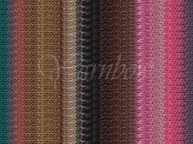 NORO ::Silk Garden #401:: silk mohair wool yarn Fall'14 Pinks-Browns-Turquoise