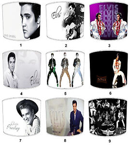 Lampshades-Ideal-To-Match-Elvis-Presley-Cushions-Elvis-Duvets-amp-Elvis-Wall-Art