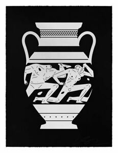 CLEON PETERSON - original Edition _ OFFER WELCOME_banksy jonone obey cope2 seen