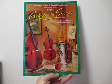 ARTISTRY IN STRINGS by FROST and FISCHBACH - BOOK 1 for STUDENT PLAYERS - KJOS