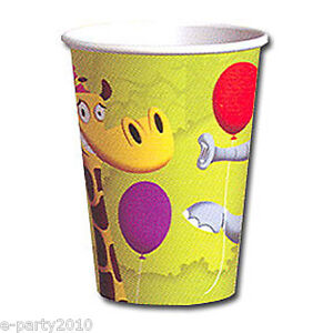 ~ Birthday Party Supplies Beverage Drinking MICKEY MOUSE 9oz PAPER CUPS 8
