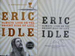 Signed-Always-Look-on-the-Bright-Side-of-Life-by-Eric-Idle-1st-Hbk-Monty-Python