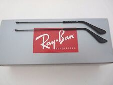 Authentic NEW RAY BAN SHINY BLACK REPLACEMENT TEMPLES FOR 3025 AVIATOR 135mm
