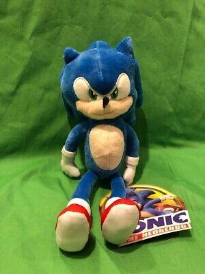 Nuevo Sonic Hedgehog Movie Sonic Felpa Con The Toy Factory Etiqueta Oficial De 10 Pulgadas Ebay