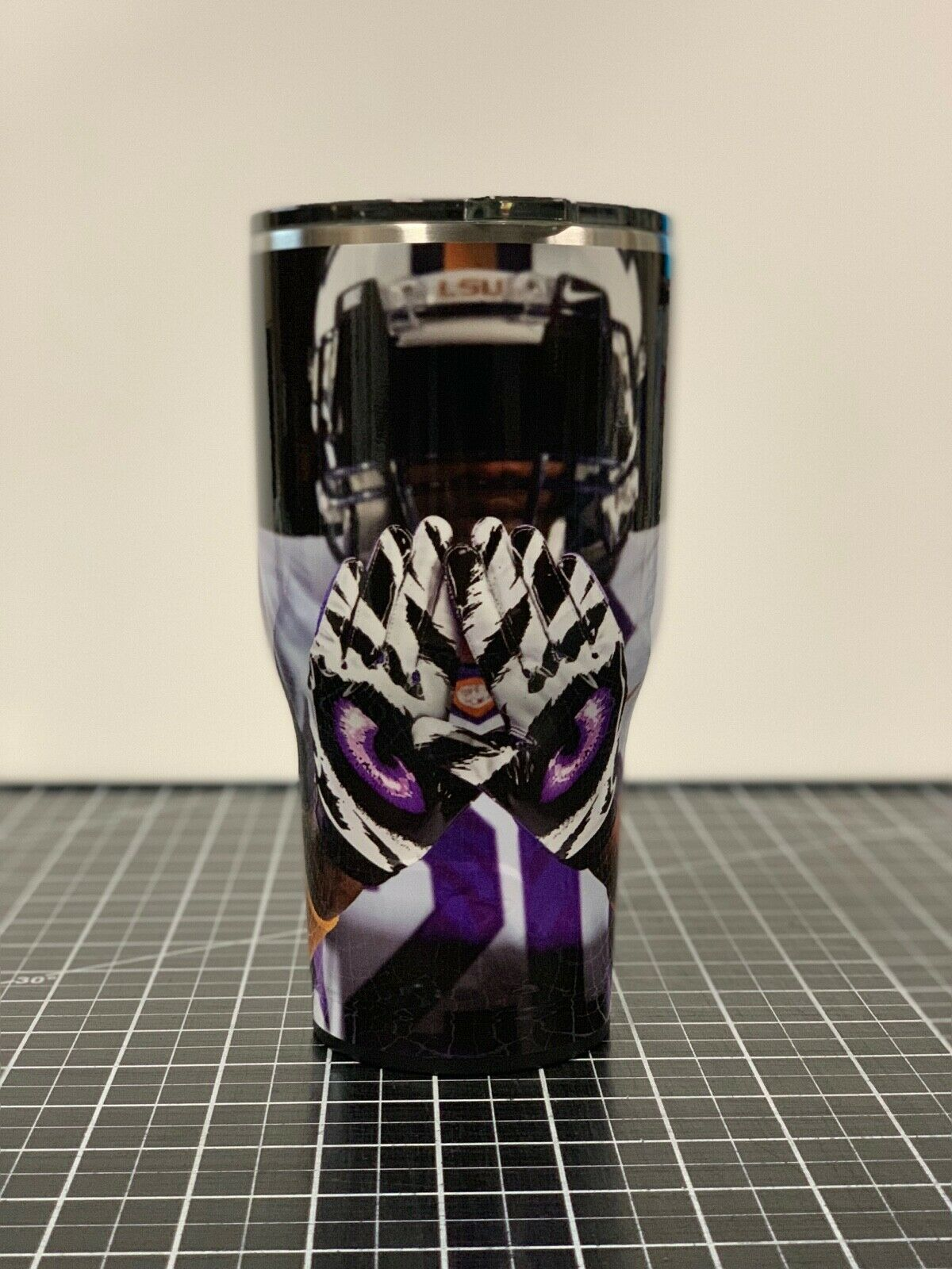 Yeti 20 20 20 OZ 30 OZ LSU Tigers Football Wrapped Cup Rambler Tumbler 5490f3