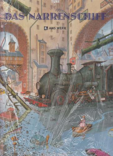 Das Narrenschiff Hardcover Comic Nr Kult Editionen 1-4 zur Auswahl Splitter