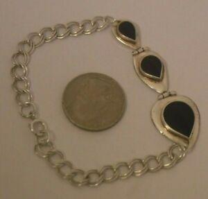 Vintage sterling silver Bracelet 9.3 grams stamped