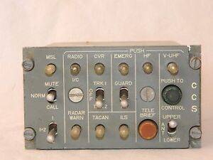 CCS-Station-Control-Box-As-Used-In-Tornado-Aircraft-M1C