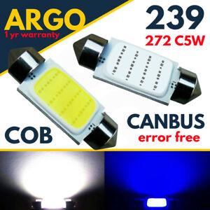 239-Cob-Cree-Led-High-Power-6w-272-C5w-No-Error-Number-Plate-Reg-Light-Bulbs-12v