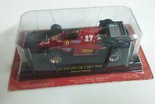 FERRARI 126 C2B 1983 P. TAMBAY F1 FORMULE 1 N°27 rouge au 1/43 sous blister