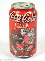 Coca-Cola Classic - Santa 1997 Edition Unopened 12oz. Can