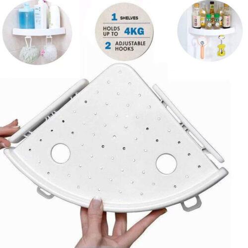 Bathroom Triangular Shower Shelf Corner Bath Storage Holder Organizer Rack LOT