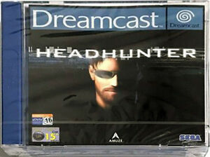 Dreamcast Headhunter (Sega Dreamcast, 2001) PAL/UK Broken ...