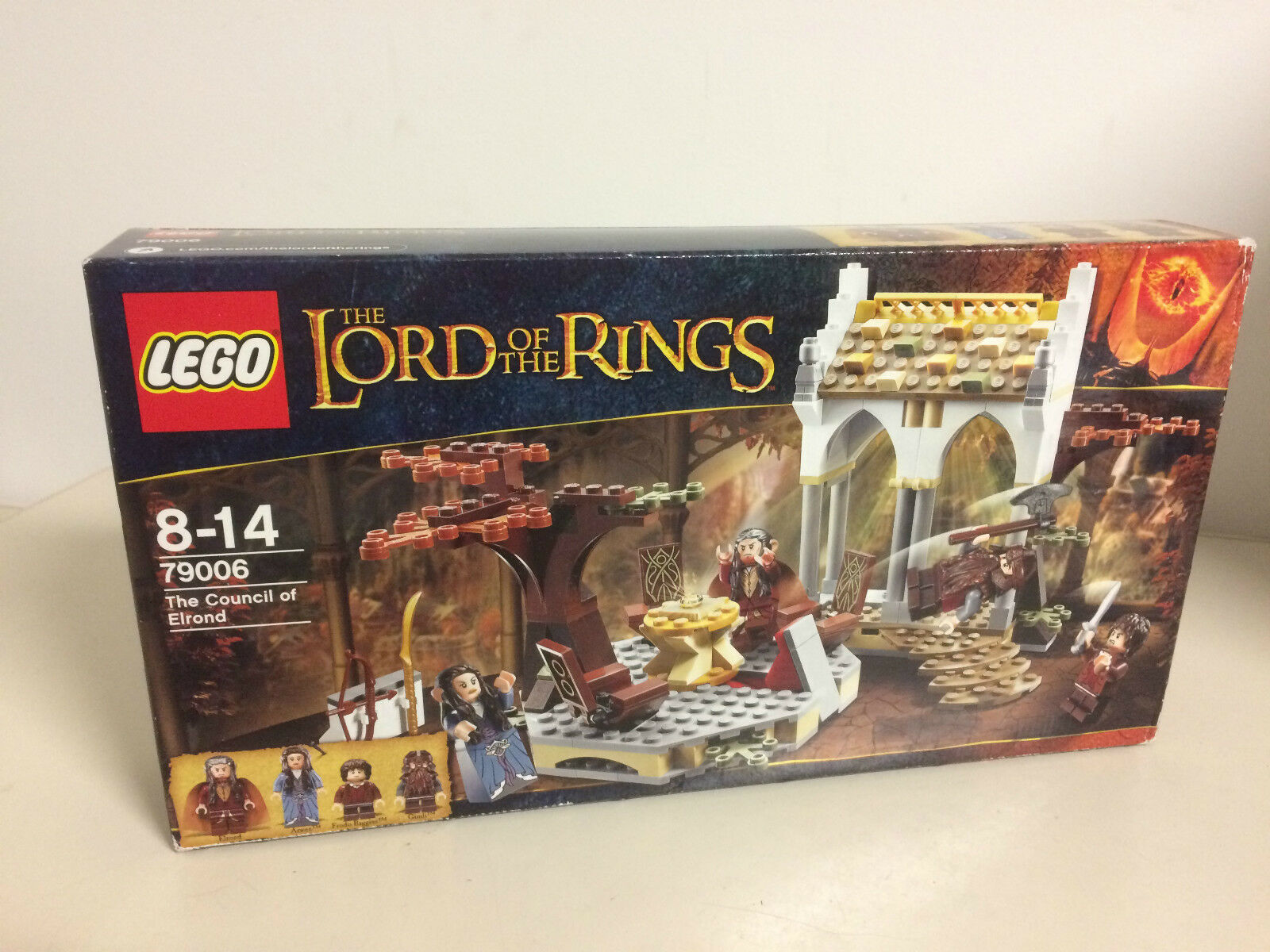 LEGO LORD OF THE RINGS 79006 THE COUNCIL OF ELROND new Nuevo with 4 minifigures