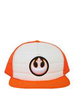 Star Wars Rebel Alliance Snapback Trucker Hat Men's Hat Cap Size Adjustable