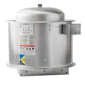 HoodMart 28D Direct Drive Type 1 Commercial Kitchen Exhaust Fan for ...