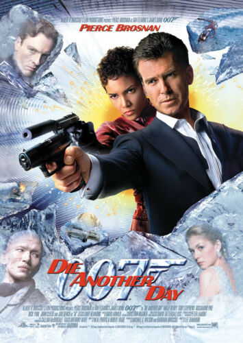 James Bond Die Another Day Image Postcard 10cm x 15cm Official Licensed Mercha