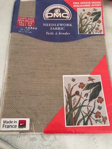 DMC 14 Count Linen Fabric 20x30 Inches DC28L 842 50x75cm
