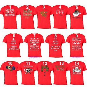 cc5899cf UGLY CHRISTMAS SHIRT Vacation Santa Funny unisex Men Women Family T ...