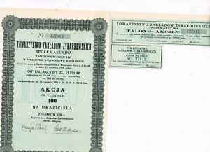 S-des-Etablissements-de-Girardov-1918-100-Zlotys-VF