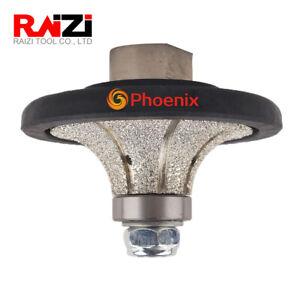 3 4 B20 Demi Bullnose Roundover Diamond Hand Profiler Router Bits For Granite Ebay
