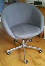 IKEA skruvsta swivel chair charcoal grey immaculate condition & SKRUVSTA IKEA White Swivel Chair | eBay