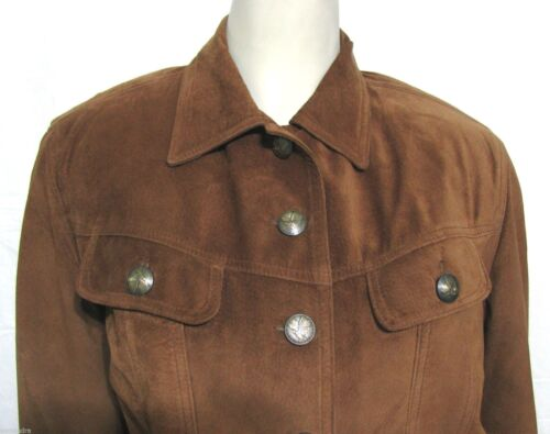 Made 8 Sandi Jacket Country Custom S Suede Usa Leather Renditions Brown Ægte OzgSqSd7H6