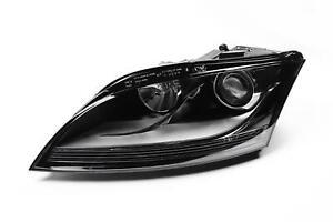 Audi-TT-06-09-Chrome-Headlight-Headlamp-Left-Passenger-Near-Side-N-S-OEM