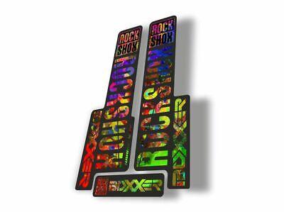 3 Colour Designer Pack RockShox BOXXER 2017 2018 Style Stickers Decals