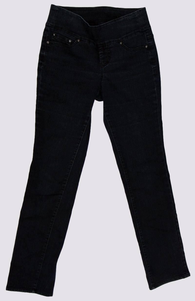 JAG JEANS Pull-on Jegging Jeans High Waist Dark Wash Size 4 Slim-leg 32  L