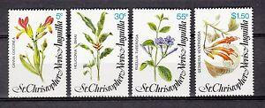 103418/st Kitts-nevis 1979-mi 375/78 - Intérieur Plantes - **