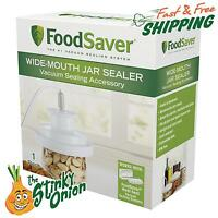 Food Saver Jar Vacuum Sealer Wide Mouth