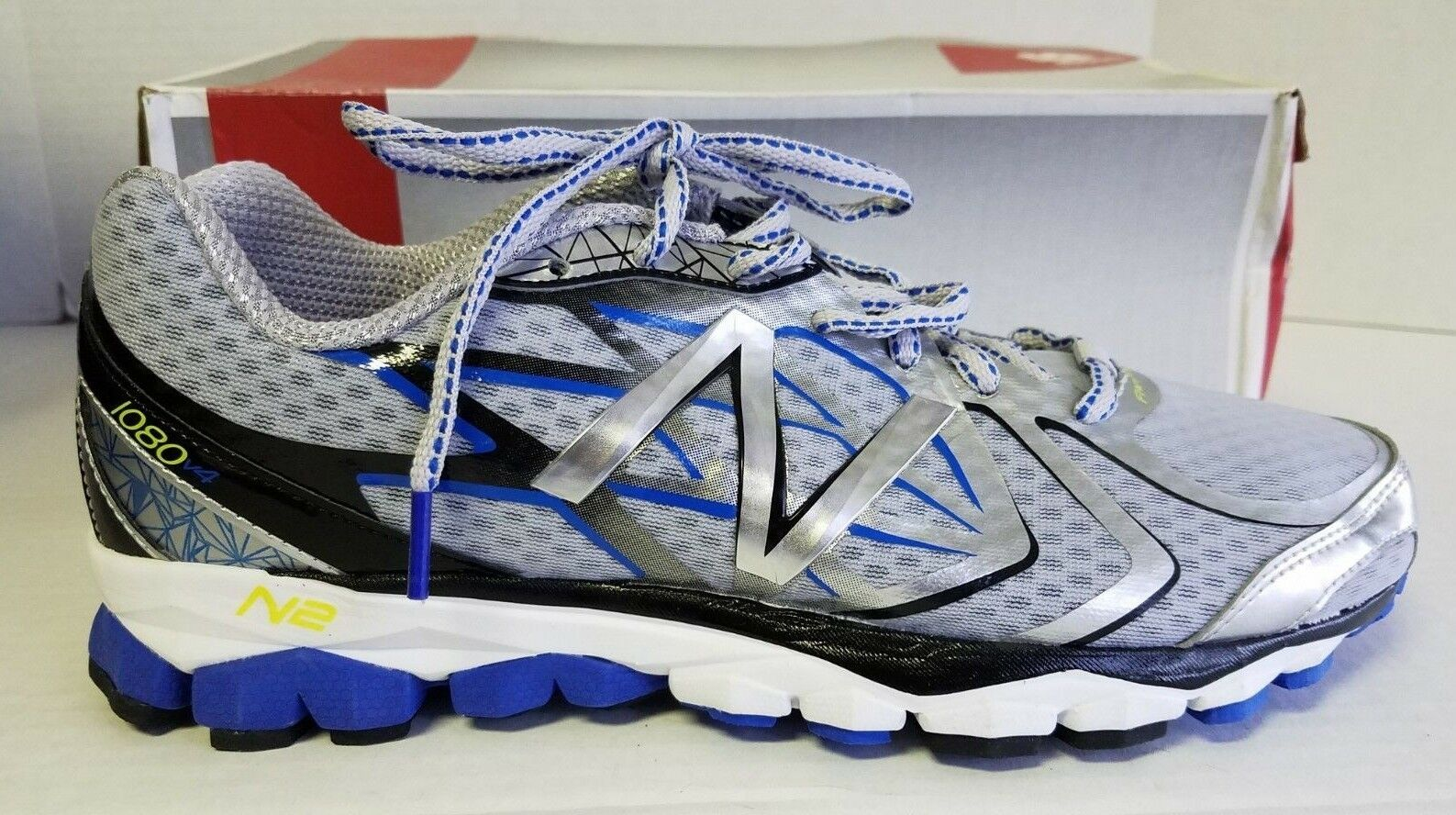 shoes Running V4 1080 Men's Balance New bluee Grey Large T