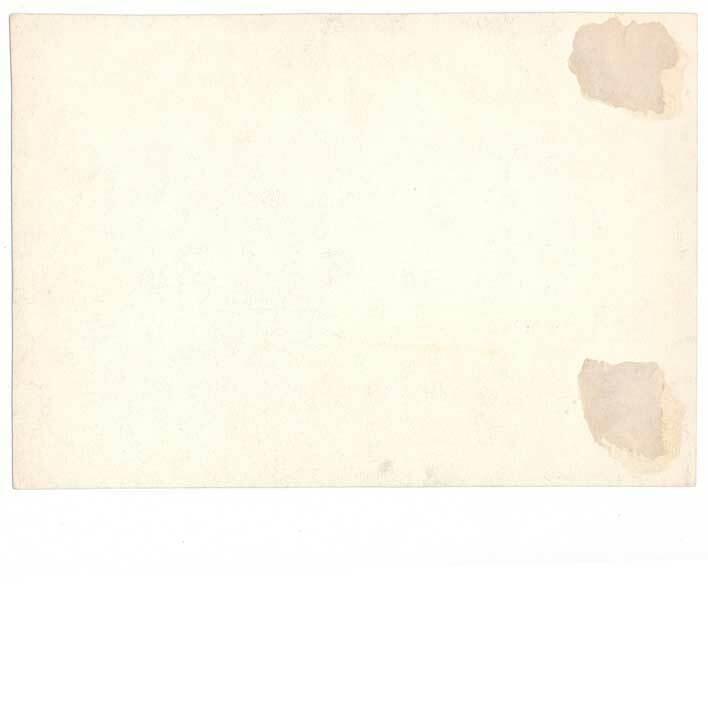 Hall & Ruckel, Sozodont, box proof 1860s, intaglio, Ros