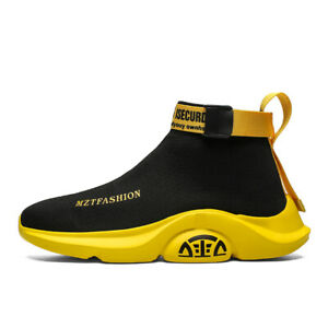 Men-039-s-Fashion-Casual-Shoes-Ultralight-Sports-Sneakers-Athletic-Sock-Like-Youth