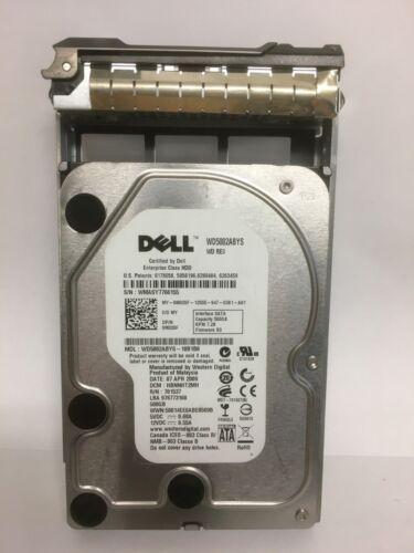 0M20F Dell WD M020F 500GB 7200RPM SATA 3.0Gb//s 3.5in Hard Drive with CADDY//TRAY