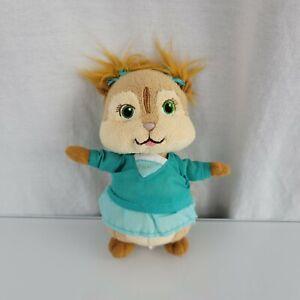 "Ty Beanie Baby ELEANOR Alvin & the Chipmunks Squeakquel Plush Stuffed 2011 6"""