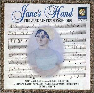 Image result for Jane's Hand: The Jane Austen Songbooks