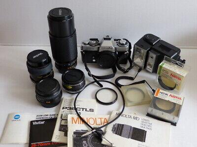 Konverter Hart Arbeitend Spiegelreflexkamera Minolta Xd 5 Zubehör Tele, Nahlinsen Filter