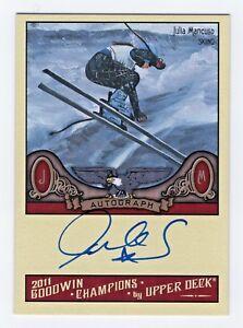 2011-Goodwin-Champions-Autograph-Julia-Mancuso-Olympic-Alpine-Skiing-USA