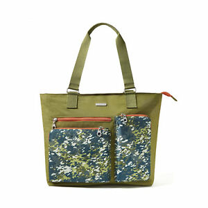 baggallini-Women-039-s-Multicolored-Tote-Shoulder-Handbag-Nylon-Multiple-Colors