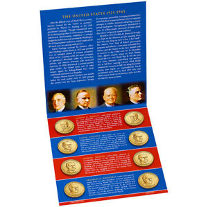 2014-PRESIDENTIAL-1-P-amp-D-UNCIRCULATED-SET-SEALED-ALL-8-Coins-US-Mint-BU-COA
