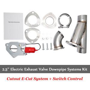 Elettrico-Scarico-Valvola-Deviatrice-2-5-034-63mm-Acciaio-Inox-Rapido-MASO