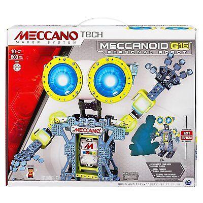 Gehorsam Meccano Meccanoid G15 Robotor Bausatz 61cm Smartphone Tablet Bluetooth 6024907 Einen Einzigartigen Nationalen Stil Haben Roboter
