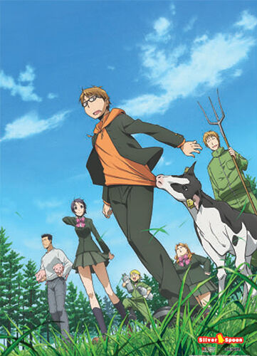 Silver Spoon Group Wall Scroll Poster Anime Manga NEW