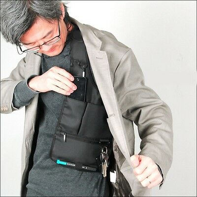 Anti-Theft Hidden Underarm Shoulder Bag Phone Holster / Multifunction Inspector