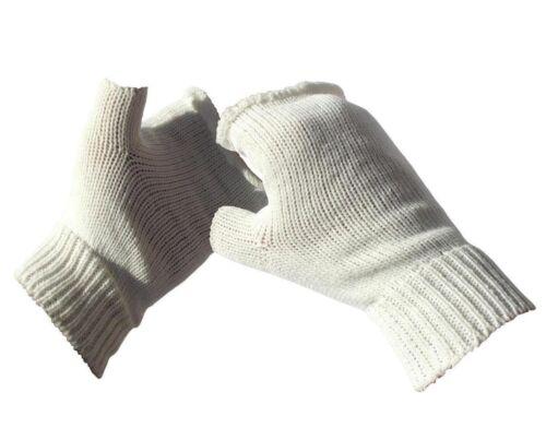 2 ou 4 Paire de GANTS femmes Handstulpen Blanc 2b6 1
