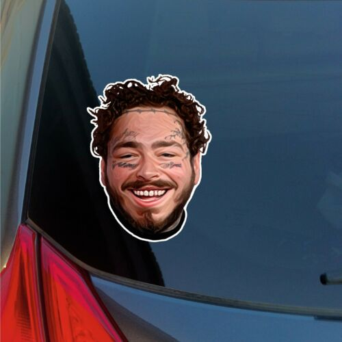 Post Malone Posty Printed Sticker Abstract Car Decal Insulated water bottle note