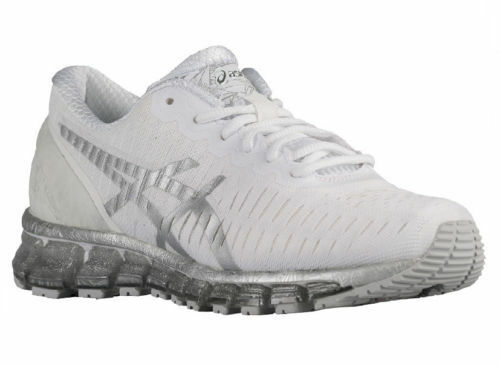 NEW WOMEN ASICS GEL-QUANTUM 360 RUNNING TRAINERS SHOES- WHITE / LIGHTNING / SNOW Seasonal price cuts, discount benefits
